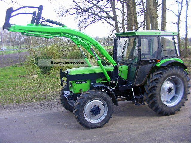 2011 Deutz-Fahr  A + D 7206 front loader Agricultural vehicle Tractor photo