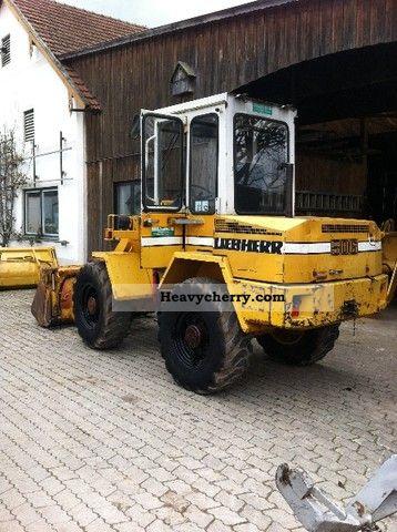 1993 Liebherr  506 Construction machine Wheeled loader photo