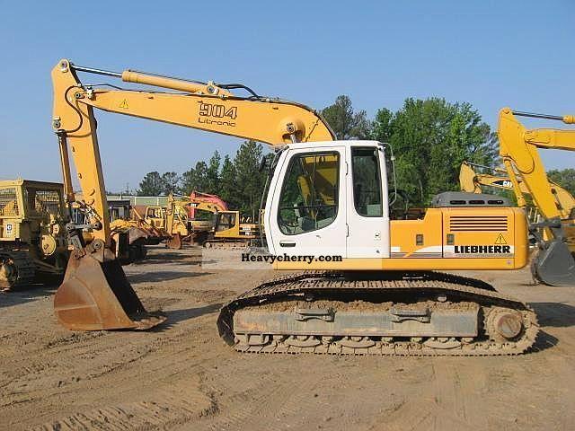 2006 Liebherr  904 HDSL Construction machine Caterpillar digger photo