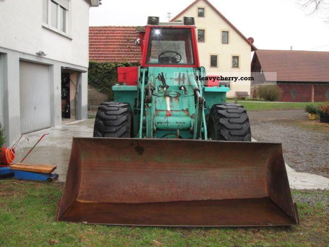 1969 Zettelmeyer  ZL 1000 Construction machine Wheeled loader photo