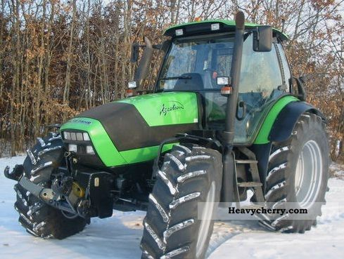 2008 Deutz-Fahr  Agrotron 150.6 TT3 Agricultural vehicle Tractor photo