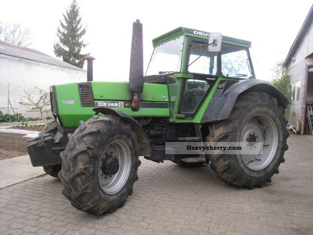 1981 Deutz-Fahr  DX 145 Agricultural vehicle Tractor photo