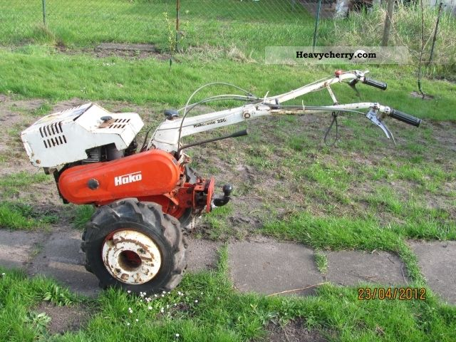 1980 Hako  Hakorette 220 Agricultural vehicle Other agricultural vehicles photo