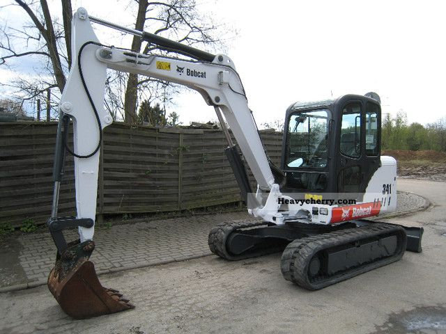 2008 Bobcat  341 G Construction machine Mini/Kompact-digger photo