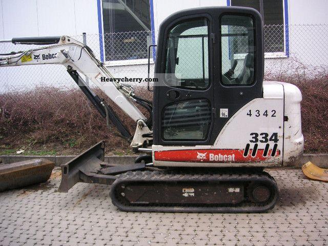 2006 Bobcat  334 BC Construction machine Mini/Kompact-digger photo