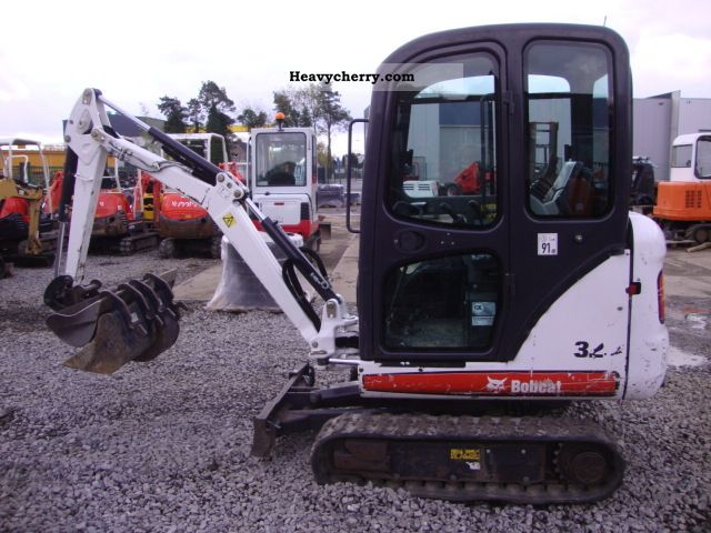 2008 Bobcat  323 Construction machine Mini/Kompact-digger photo
