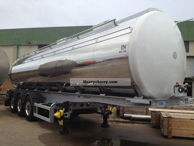 2011 Menci  Grapar 31000/12500 +12500 +6000 Semi-trailer Food tank photo