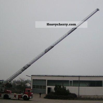 1974 Magirus Deutz  Fire department Truck over 7.5t Hydraulic work platform photo