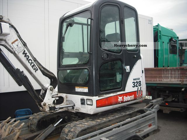 2006 Bobcat  328 Construction machine Mini/Kompact-digger photo