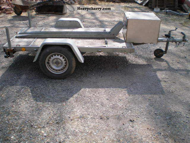 1995 Heinemann  Motorcycle trailer at 100km / h approval Trailer Motortcycle Trailer photo