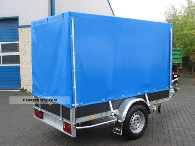 Atec Box Trailer With Wood Vinyl Cover 2011 Stake Body And