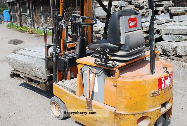 1958 Still  Electric forklift R50 Forklift truck Front-mounted forklift truck photo