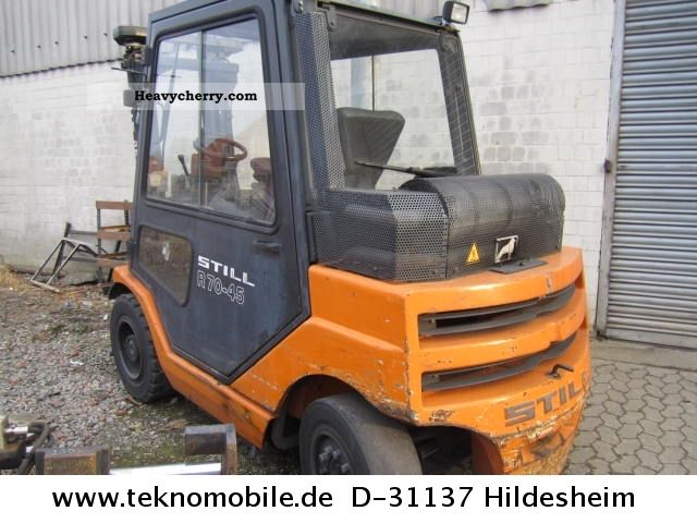2004 Still  R 70-45 RUSSPARTIK ELFILTER ENGINE DAMAGE Forklift truck Front-mounted forklift truck photo