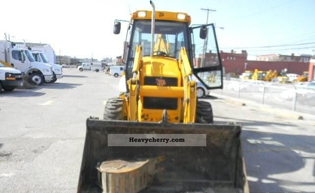 2007 JCB  2CX 4x4 Construction machine Mobile digger photo