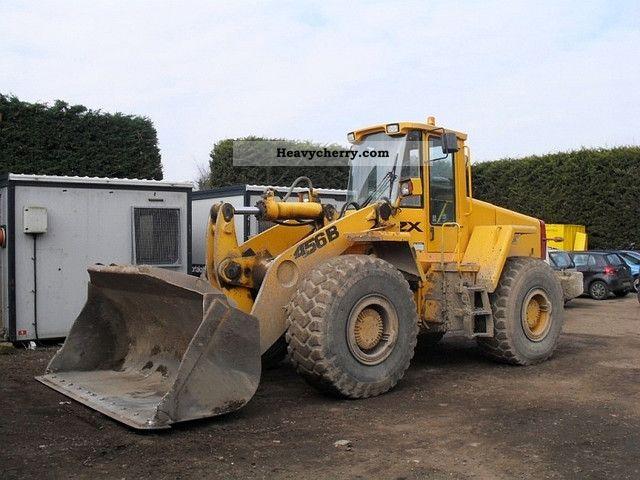 1998 JCB  456B ZX! with about 3cbm shovel! Construction machine Wheeled loader photo