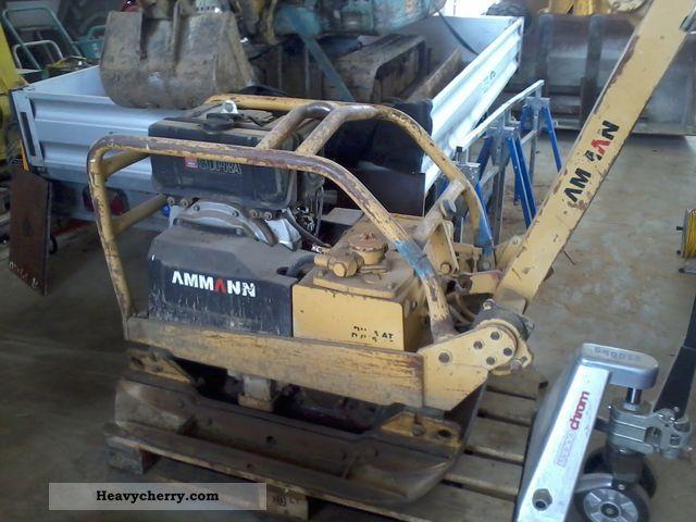 1992 Ammann  DVH 6010 Construction machine Compaction technology photo