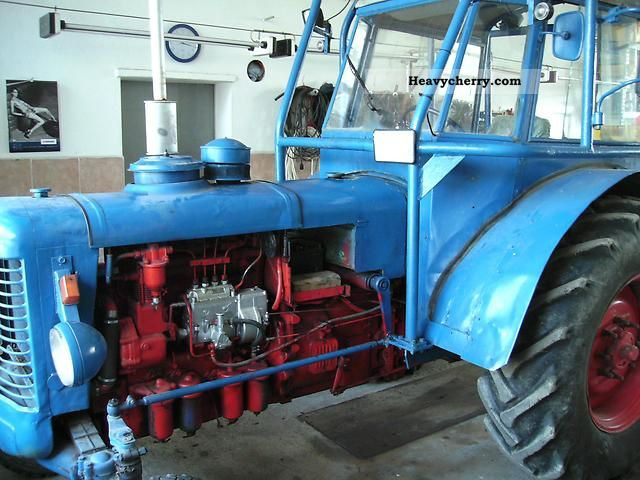 1966 Zetor  50 Super Agricultural vehicle Tractor photo
