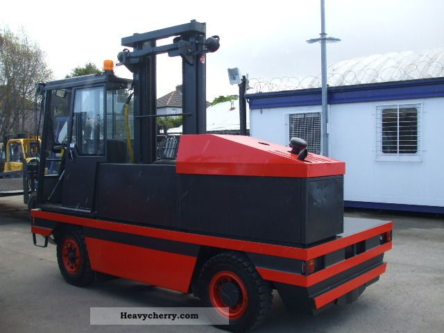 Linde S40 2003 Side Loading Forklift Truck Photo And Specs