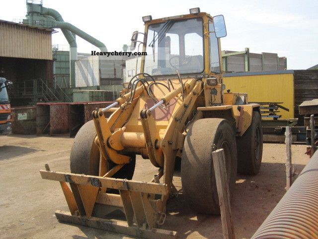 1994 Zettelmeyer  ZL 1001 with bucket 1,5 m³ Construction machine Wheeled loader photo