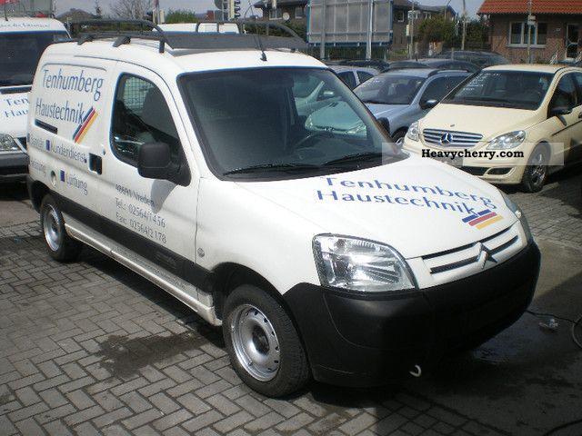 2003 Citroen  Citroen Berlingo box truck sliding doors Van or truck up to 7.5t Box-type delivery van photo