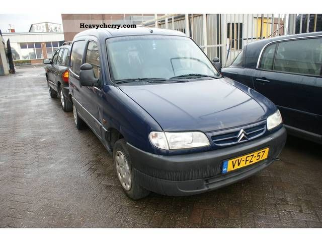 1998 Citroen  Citroen Berlingo 1.9 D Van or truck up to 7.5t Box-type delivery van photo