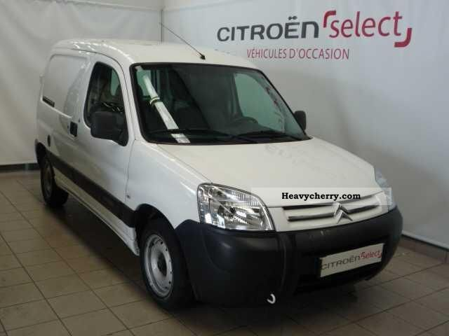 citroen citroen berlingo hdi 92 625 kg court business 2010 box truck photo and specs. Black Bedroom Furniture Sets. Home Design Ideas