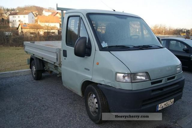 2001 Citroen  Citroen Jumper 2.8 Van or truck up to 7.5t Stake body photo
