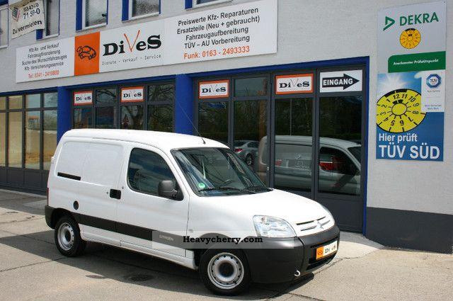 2005 Citroen  Citroen Berlingo 1.1i - APC - Radio CD - truck registration Van or truck up to 7.5t Box-type delivery van photo