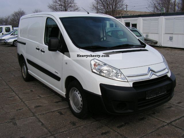 citroen citro n jumpy l1h1 1 6 hdi 27 2009 box type delivery van photo and specs. Black Bedroom Furniture Sets. Home Design Ideas