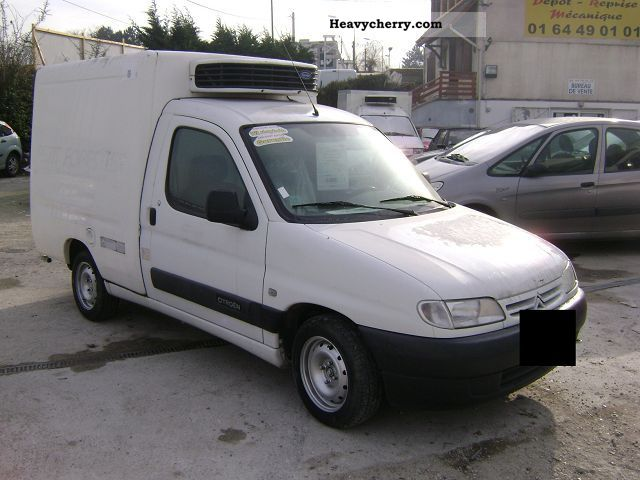 citroen citro n berlingo 1 9d isotherme ccb 2000 box type delivery van photo and specs. Black Bedroom Furniture Sets. Home Design Ideas