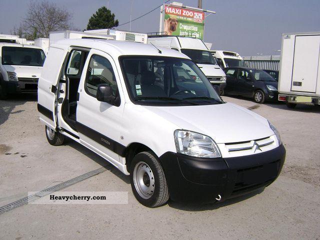2007 Citroen  Citroën BERLINGO 1.6 HDI FOURGON 5 PORTES Van or truck up to 7.5t Box-type delivery van photo