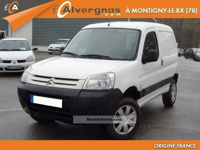 2008 Citroen  Citroën BERLINGO DANGEL 4X4 1.6 HDI COMFORT 75 P Van or truck up to 7.5t Box-type delivery van photo
