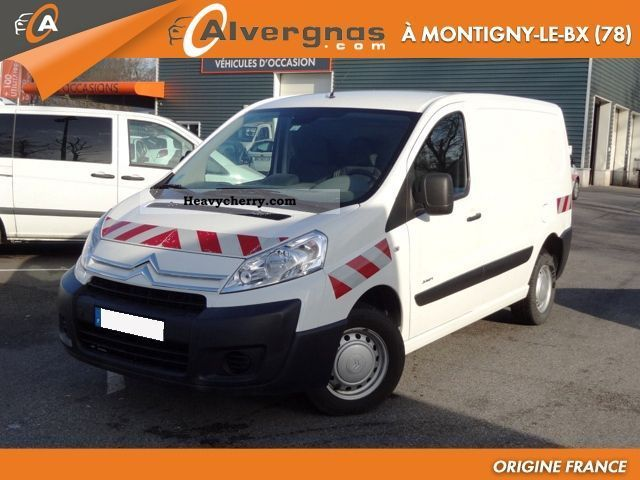 2007 Citroen  Citroën Jumpy L1H1 1.6 HDI 90 FOURGON TOLE 1T C Van or truck up to 7.5t Box-type delivery van photo