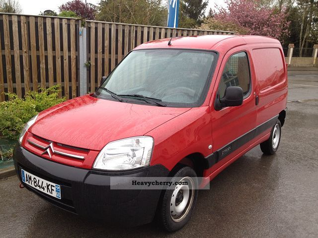 2010 Citroen  Citroen 1.6 HDI BERLINGO MULTISPACE Van or truck up to 7.5t Box-type delivery van photo