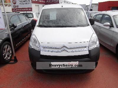 2011 Citroen  CITROEN BERLINGO Citroën HDi 92 COURT 625 KG CLU Van or truck up to 7.5t Box-type delivery van photo