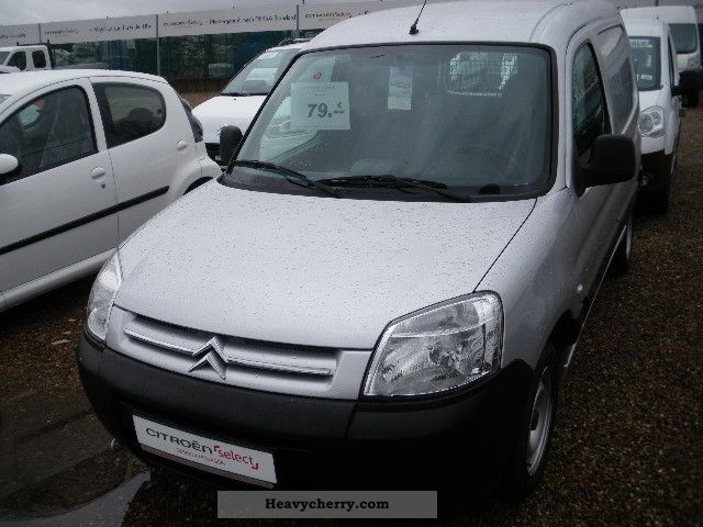 2007 Citroen  Citroen Berlingo 1.6 HDI Van L1 level Van or truck up to 7.5t Box-type delivery van photo
