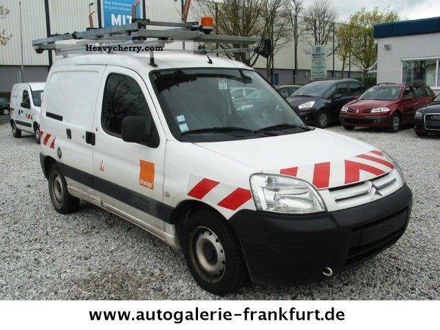 2007 Citroen  Citroën BERLINGO 2.0HDI * Trucks * AIR * EXP. 3700,-EUR Van or truck up to 7.5t Box-type delivery van photo