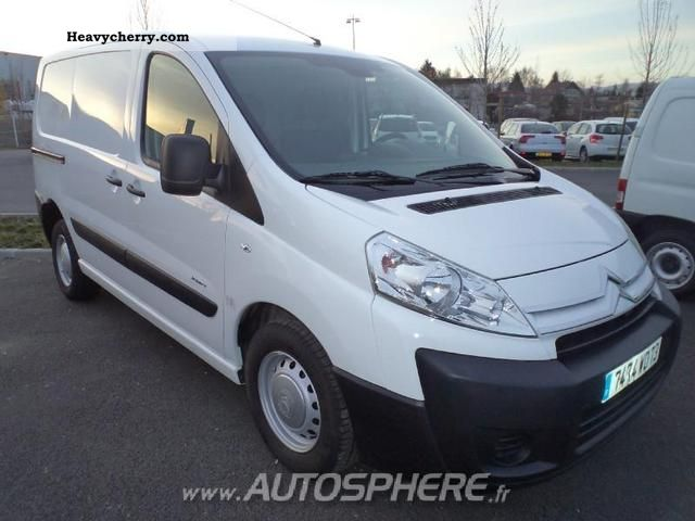 2009 Citroen  Citroën Jumpy L1H1 HDi90 Confort Fg 1000 Van or truck up to 7.5t Box-type delivery van photo