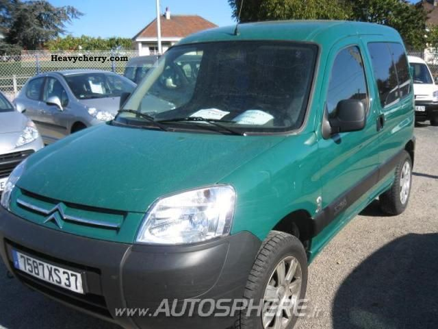 2007 Citroen  Citroen Berlingo 600kg Fgtte HDi90 Cft Van or truck up to 7.5t Box-type delivery van photo