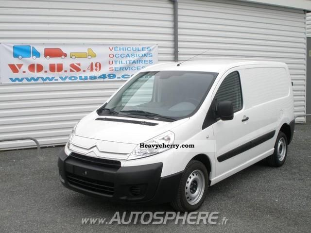 2010 Citroen  Citroën Jumpy L1H1 HDi120 Club Fg 1000 Van or truck up to 7.5t Box-type delivery van photo