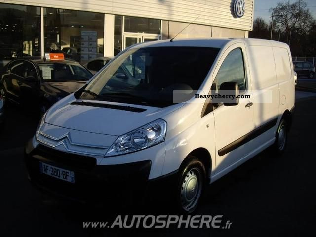 2009 Citroen  Citroën Jumpy L1H1 Fg 1200 HDi120 District Van or truck up to 7.5t Box-type delivery van photo