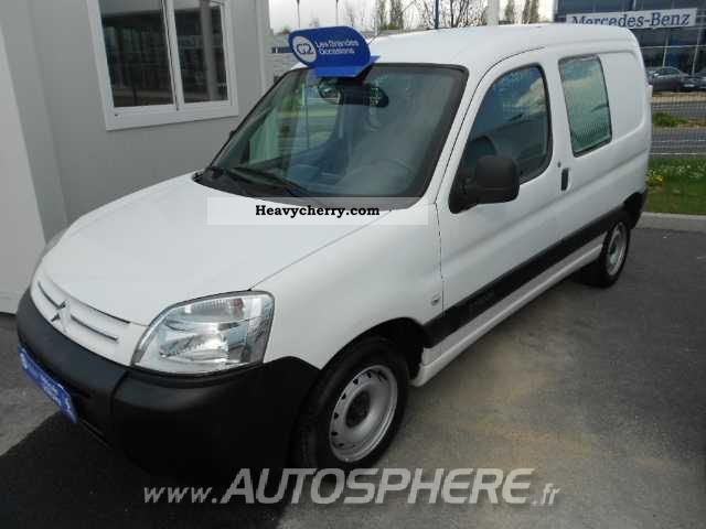 2005 Citroen  Citroen Berlingo Berlingo CLUB ENTREPRISE 2.0 HD Van or truck up to 7.5t Box-type delivery van photo