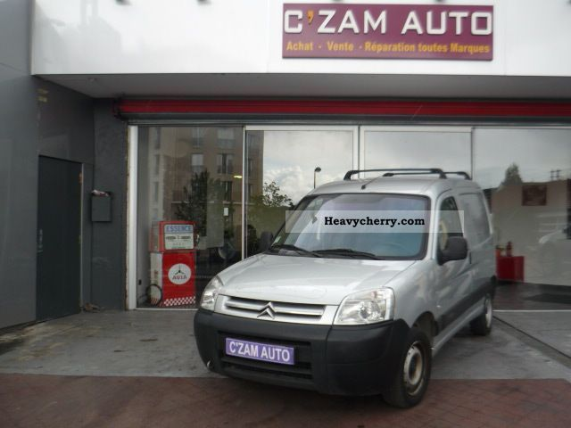 2008 Citroen  Citroën BERLINGO FGN 1.6 HDI 75 600 FIRST KG Van or truck up to 7.5t Box-type delivery van photo