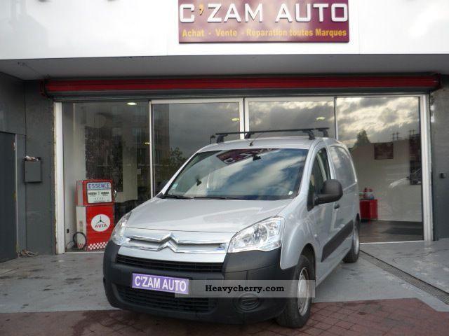 2008 Citroen  Citroën BERLINGO FGN 1.6 HDI COMFORT COURT Van or truck up to 7.5t Box-type delivery van photo