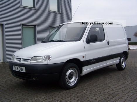 1998 Citroen  Citroen Berlingo 1.9D 800 Van or truck up to 7.5t Other vans/trucks up to 7 photo
