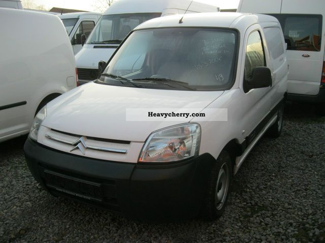 2006 Citroen  Citroen Berlingo 1.6 HDi Van or truck up to 7.5t Box-type delivery van photo