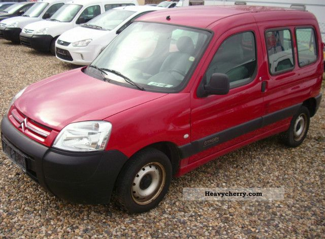 citroen citroen berlingo 1 9 d truck approval 2005 box type delivery van photo and specs. Black Bedroom Furniture Sets. Home Design Ideas