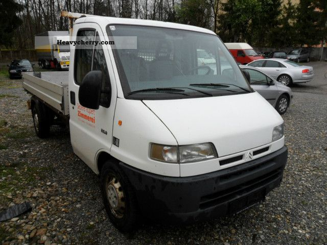 2000 Citroen  Citroen Jumper 2.5 DIESEL Van or truck up to 7.5t Stake body photo