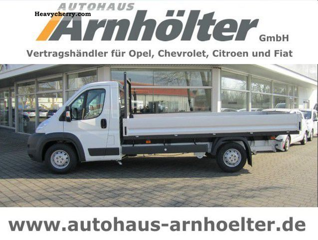 2012 Citroen  Citroën Jumper 35 L4 HDi150 Platform Van or truck up to 7.5t Stake body photo