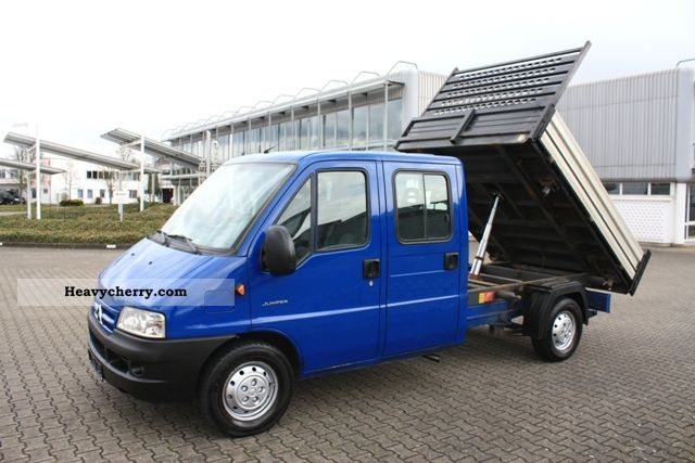 2004 Citroen  Citroën Jumper 35 2.8HDI DoKa body + 3-way tipper Van or truck up to 7.5t Tipper photo
